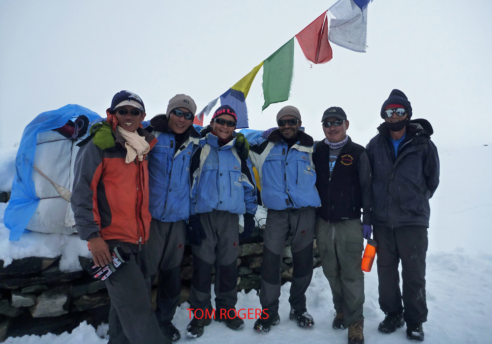 Guides and Porters above Dingboche