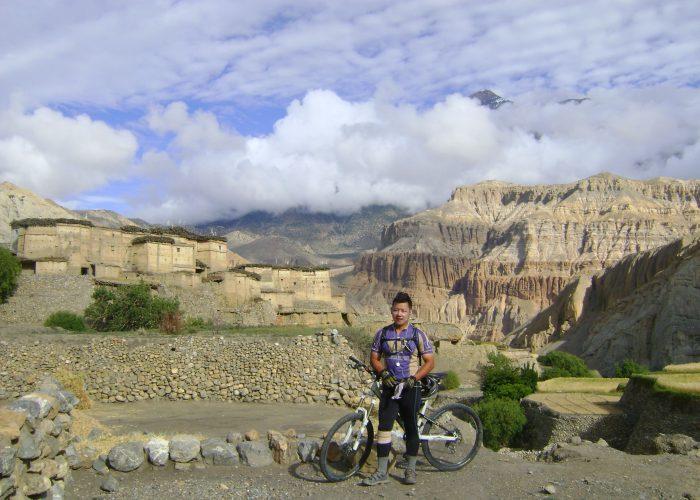 Jwalant Gurung - Mustang Biking