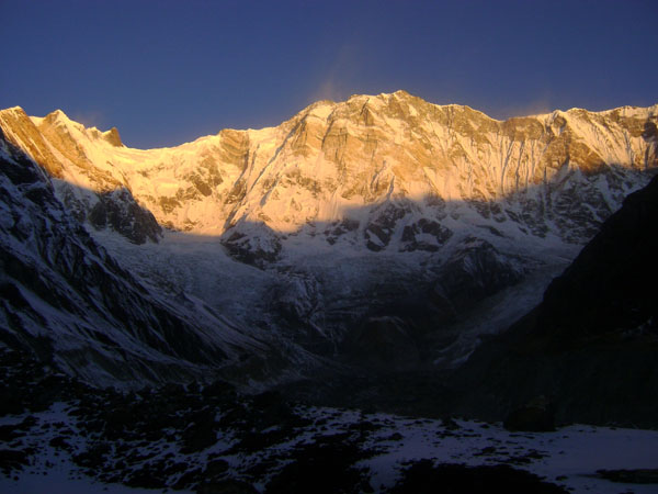 Sunset on Annapurna