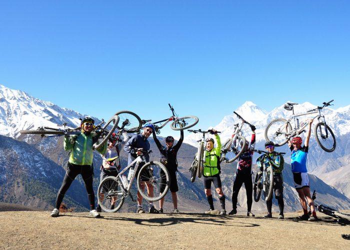 Mountain Biking in Annapurna