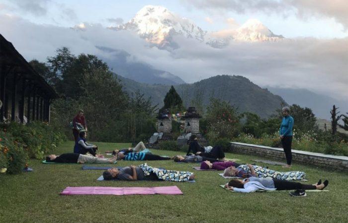 Yoga trek - Annapurna South
