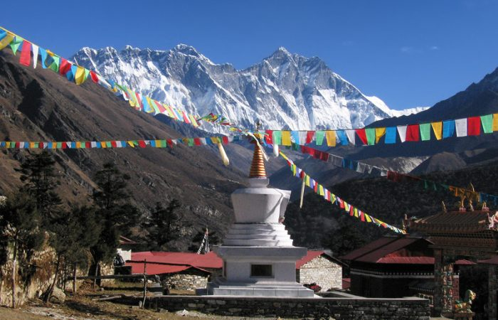 Everest From Tengboche