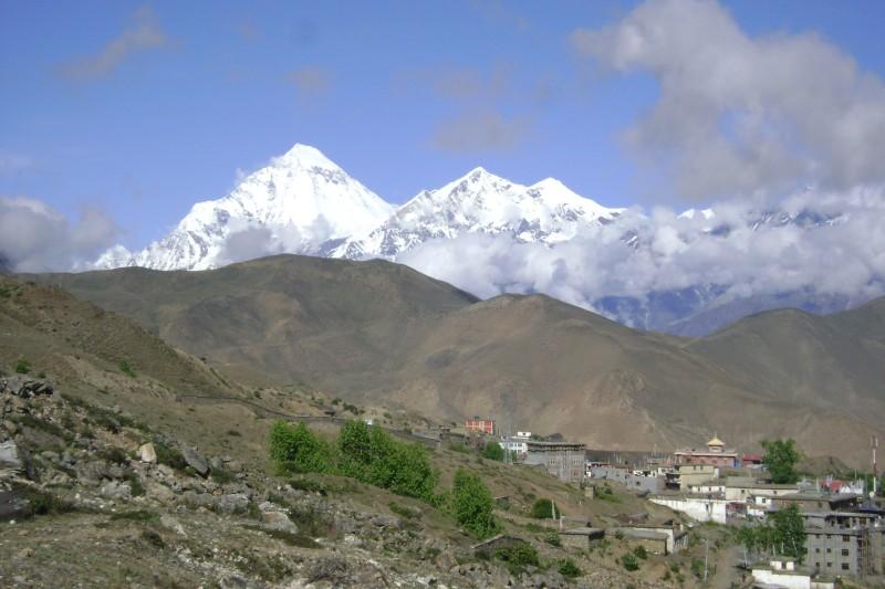 Dhaulagiri from Muktinath