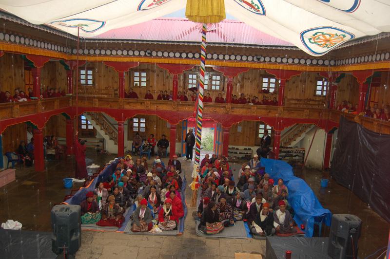 Inside Sherpa Monastery