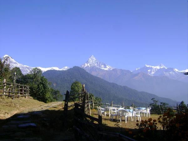 Machhapuchare from Pothana