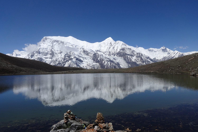 Reflection, Annapurna Circuit Trek
