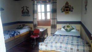 Room at Lo Manthang