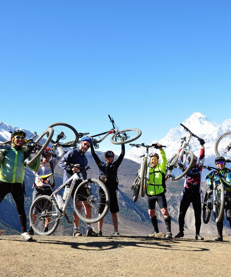 Mountain Biking in Annapurna