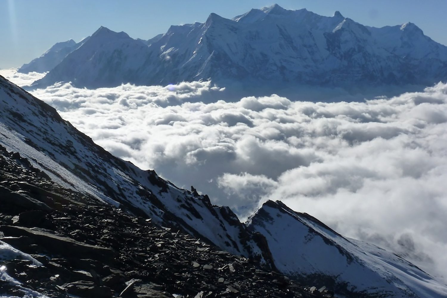 Annapurna is an island in the clouds