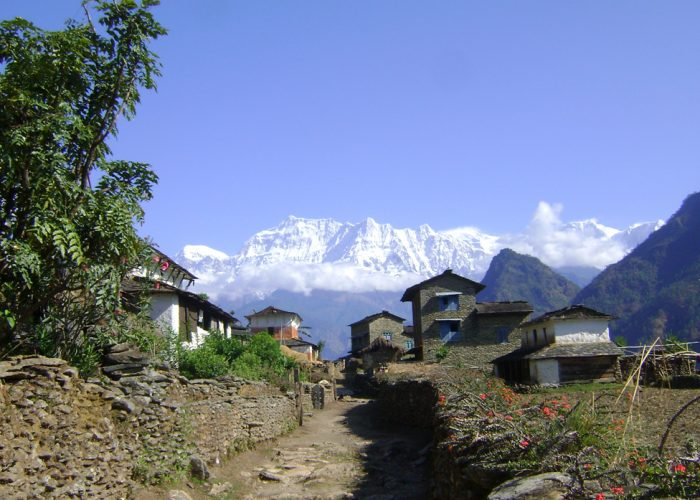 Beautiful day in Dhaulagiri - Dhaulagiri Circuit Trek