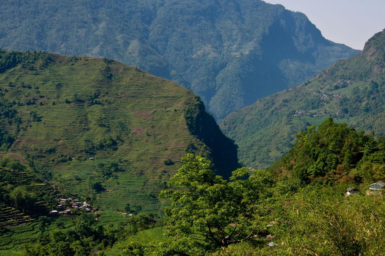 Beginning of trek, Annapurna Circuit Trek