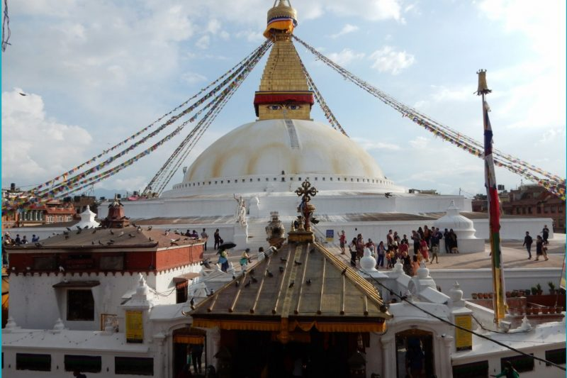 Bodhnath, Bouddha, Kathmandu, Nepal