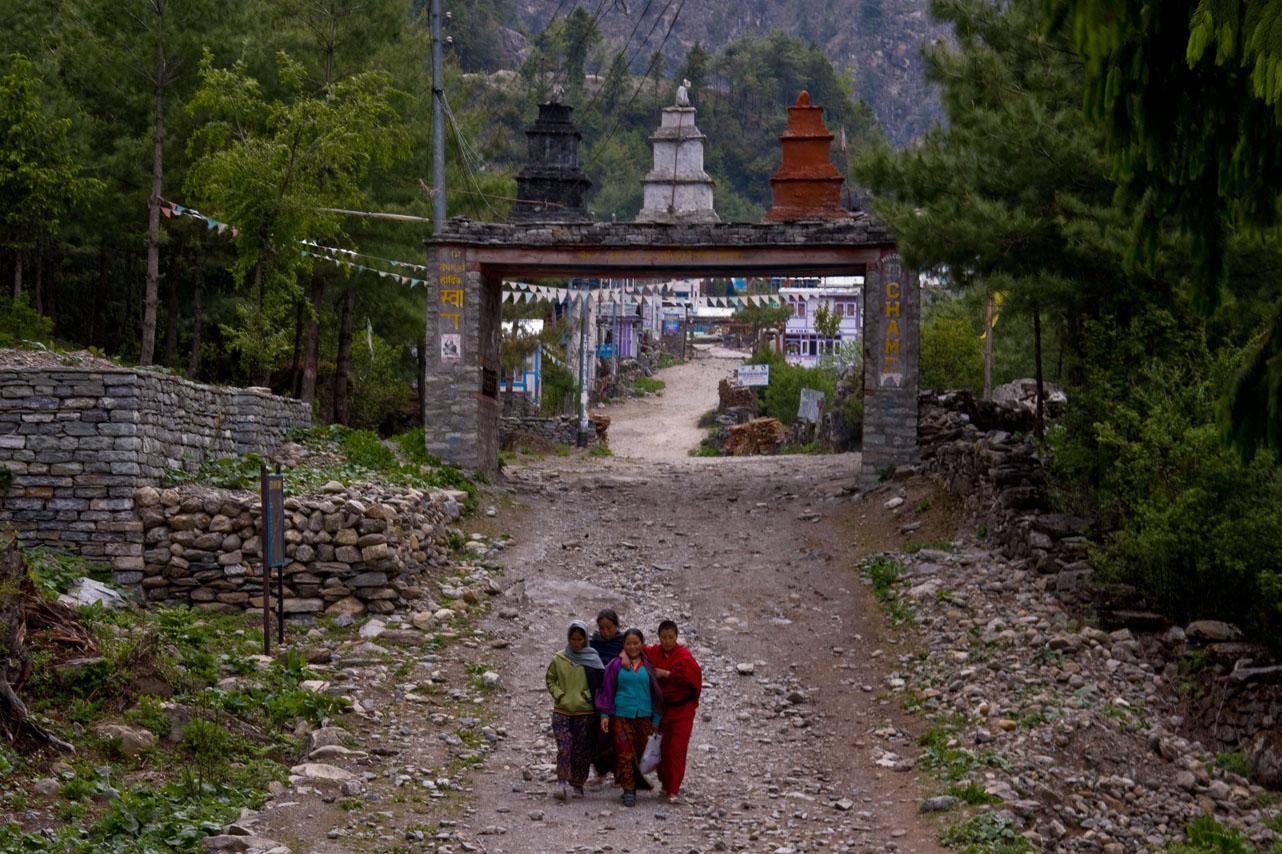 Chame, Annapurna Circuit Trek