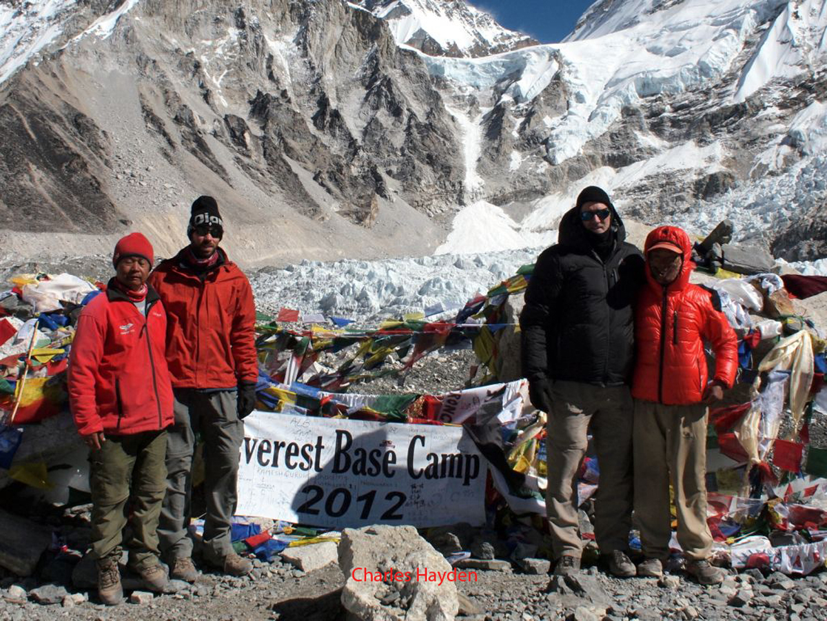 Everest Base Camp 2012 sign