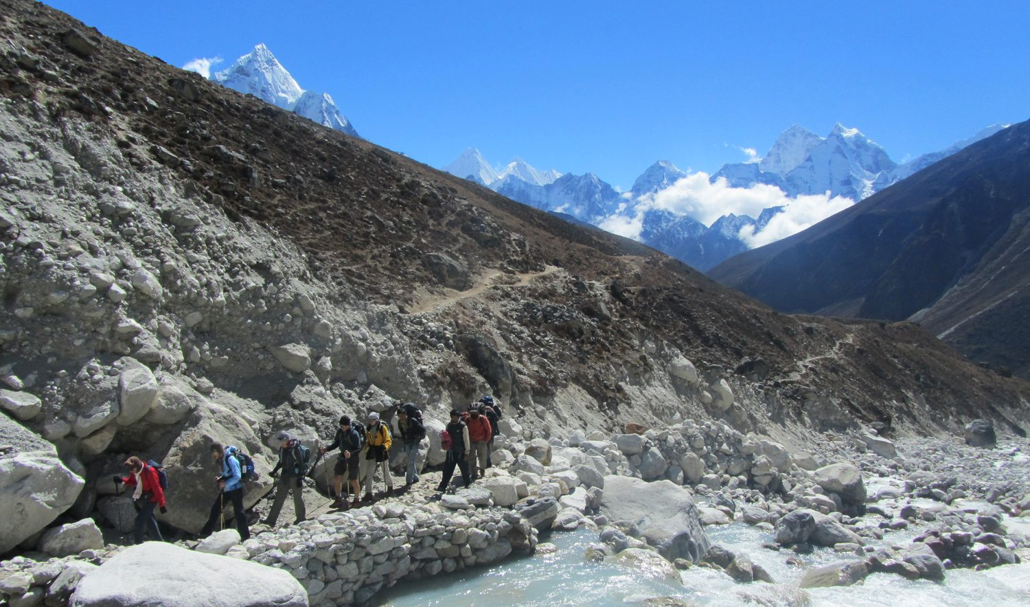 Enroute to Everest Base Camp, Everest Base Camp Trek