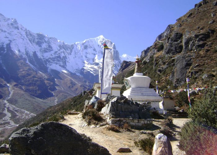 Enroute to Khumjung