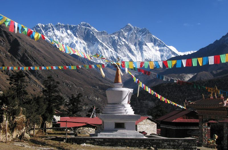 Everest From Tengboche, Everest Base Camp Trek