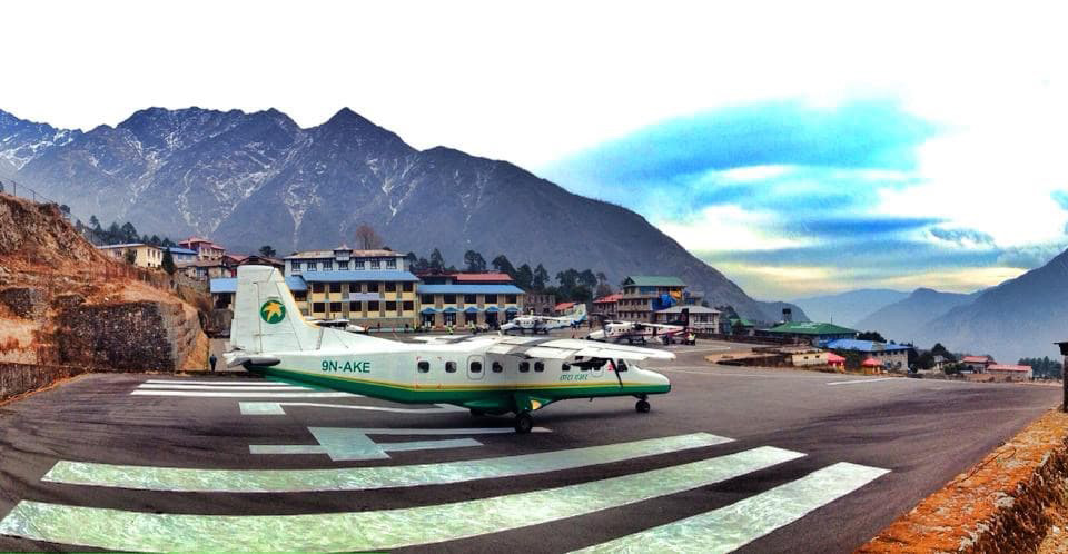 Lukla airport, Lukla, Everest Base Camp Trek