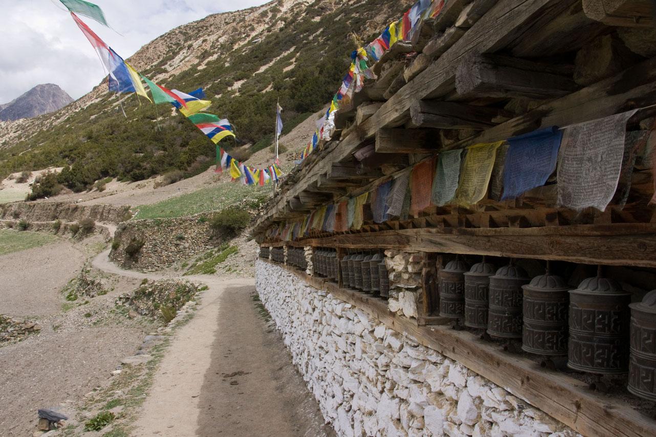 Mane wall, Annapurna Circuit Trek