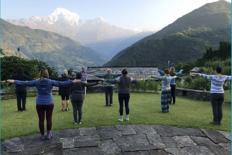 Yoga trek - Annapurna South