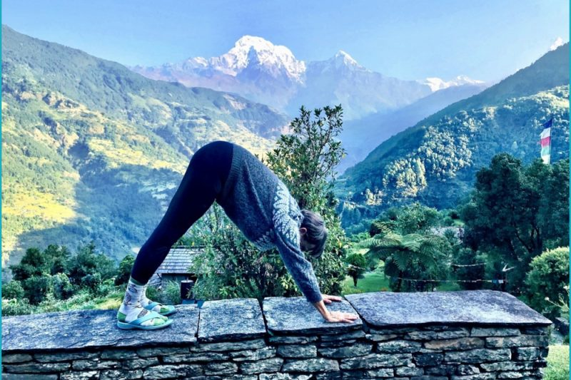 Mountain Pose, Yoga Trek