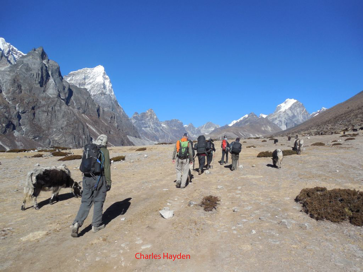 approaching dingboche, Everest Base Camp Trek