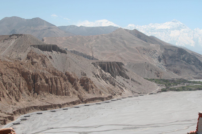Above Chele, Upper Mustang Trek