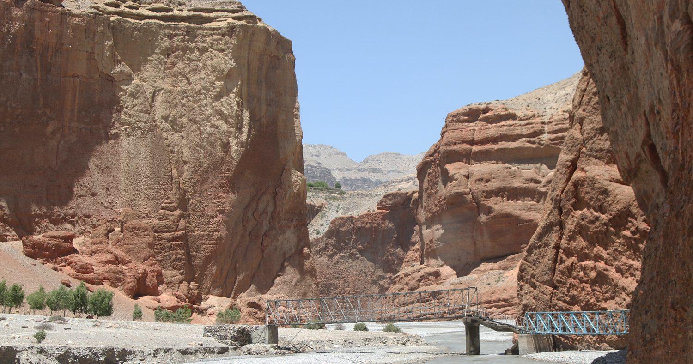 Bridge, Upper Mustang Trek