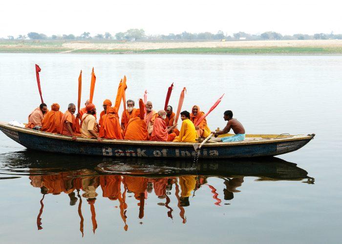 Ganges pilgrims