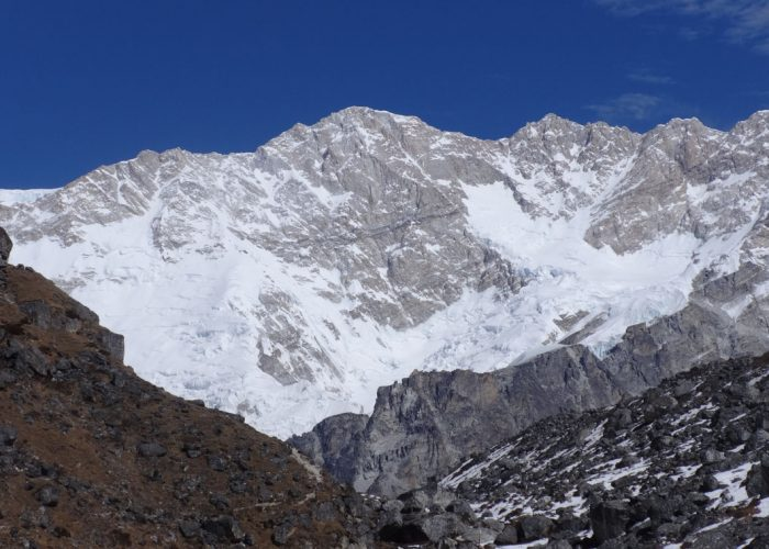 Kanchenjunga from South Base Camp