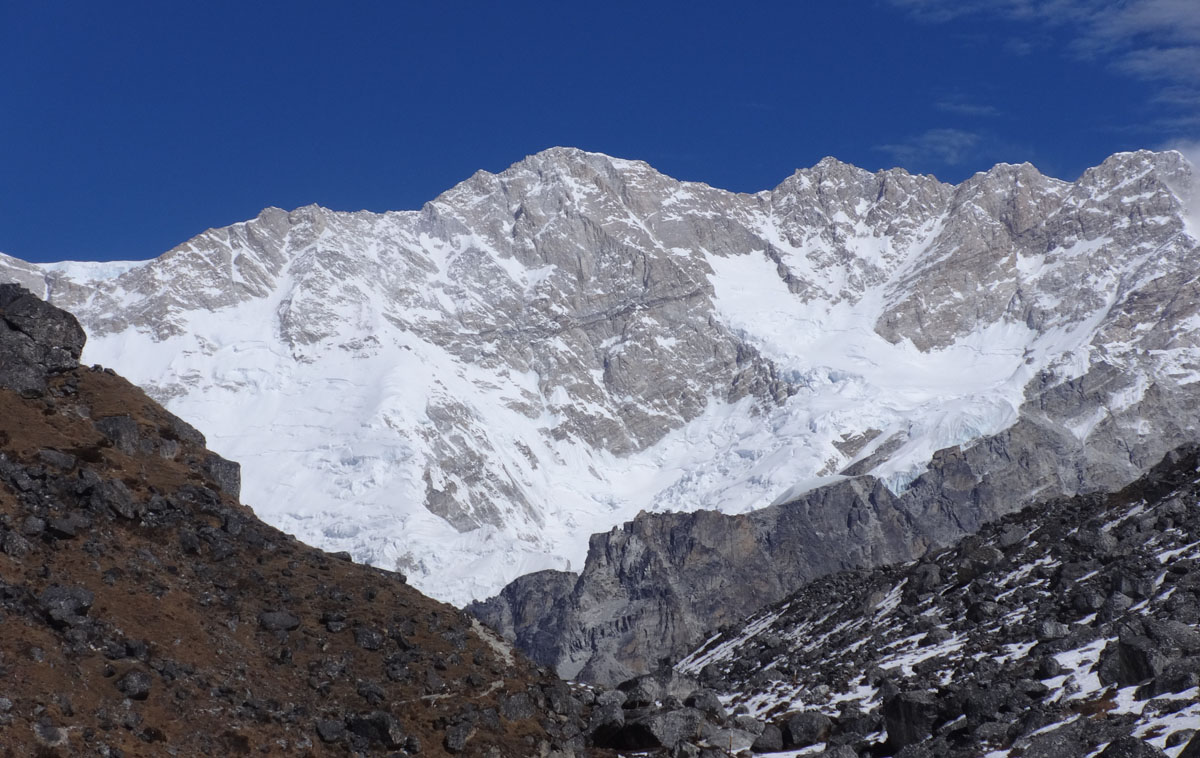 Kanchenjunga from South Base Camp, Kanchenjunga Base Camp Trek