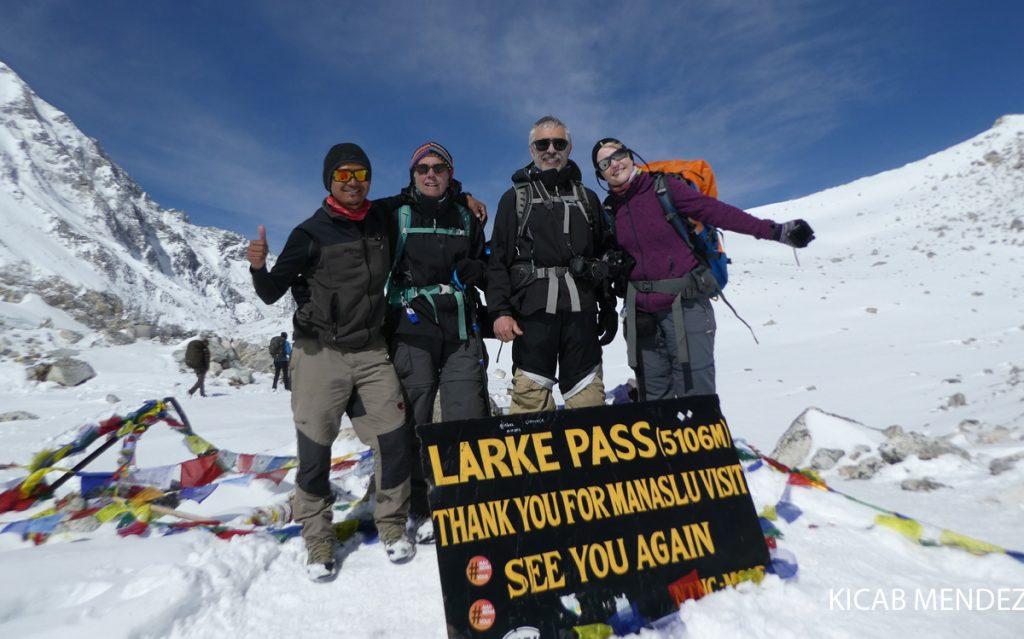 Larkya pass, Manaslu Circuit Trek