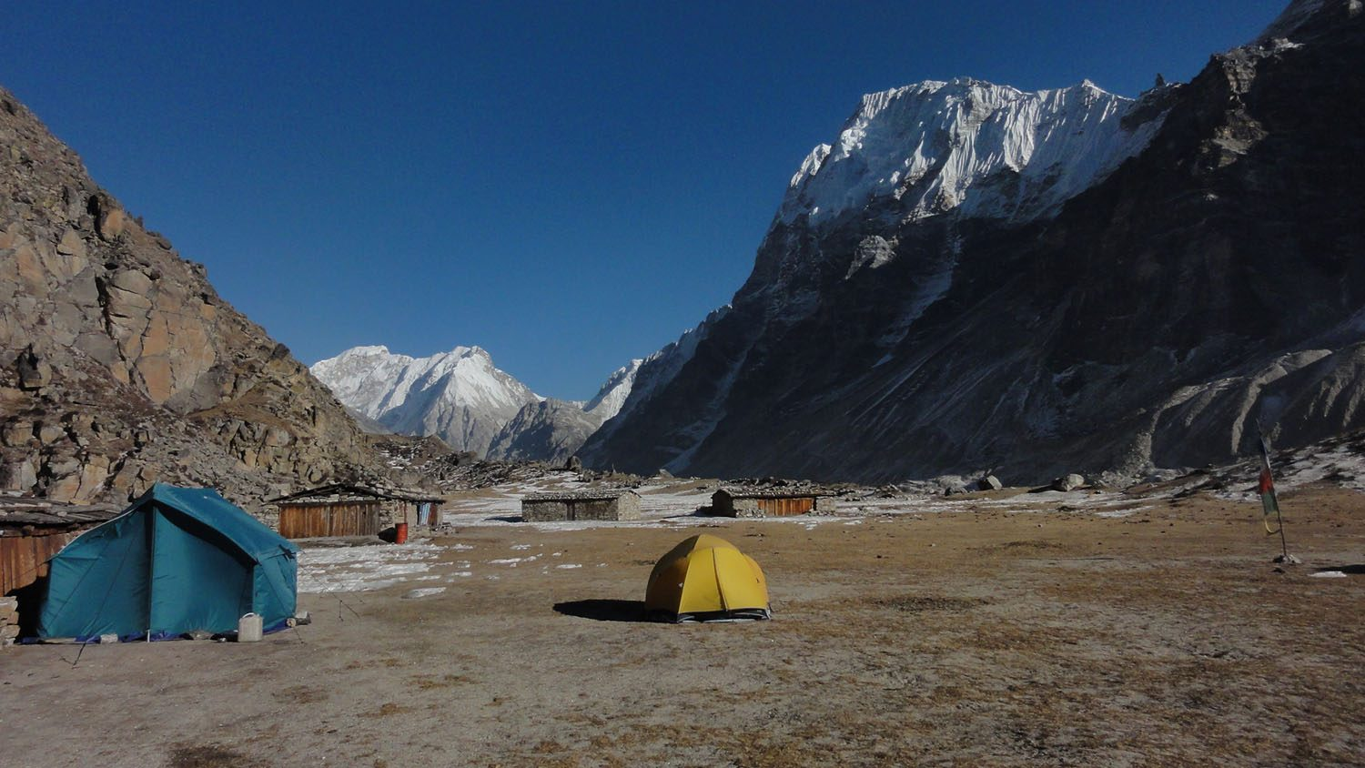 Lhonak, Kanchenjunga Base Camp Trek