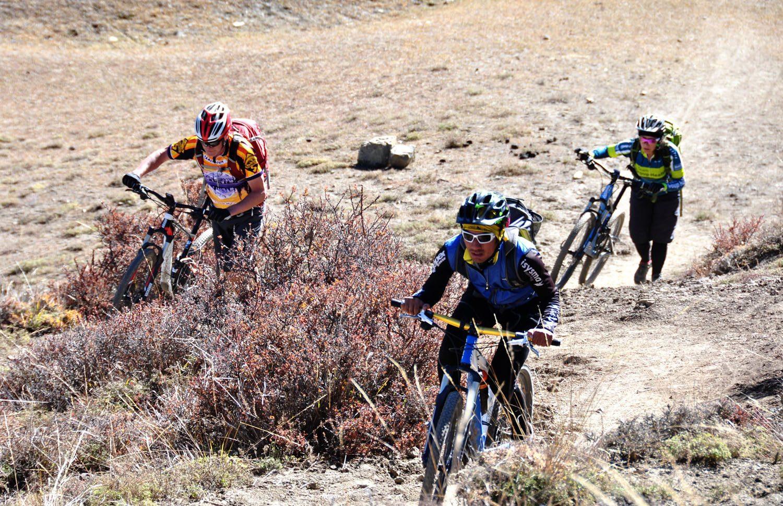 Mountain Biking to Muktinath