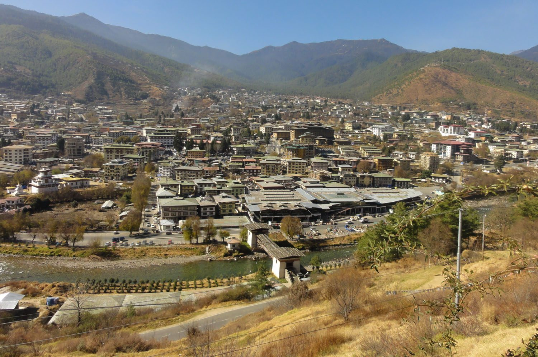 Thimpu - the capital
