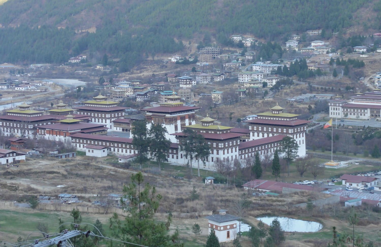 Thimpu town