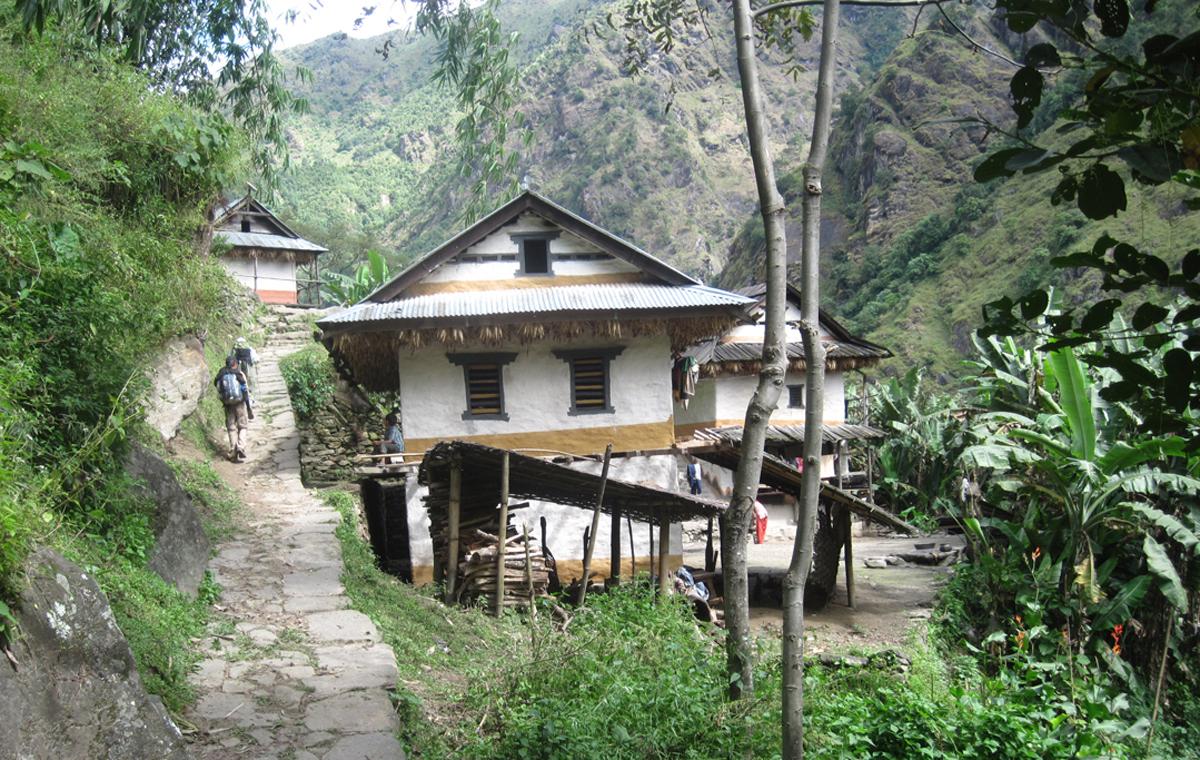 Trail to Lelep