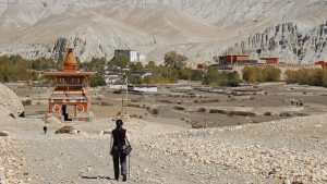 Entering Lo Manthang