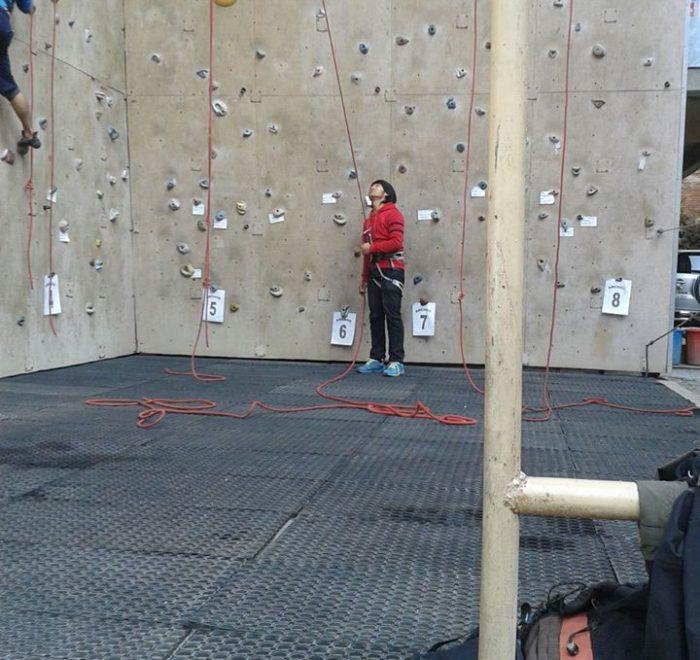 Astrek wall Climbing, Thamel