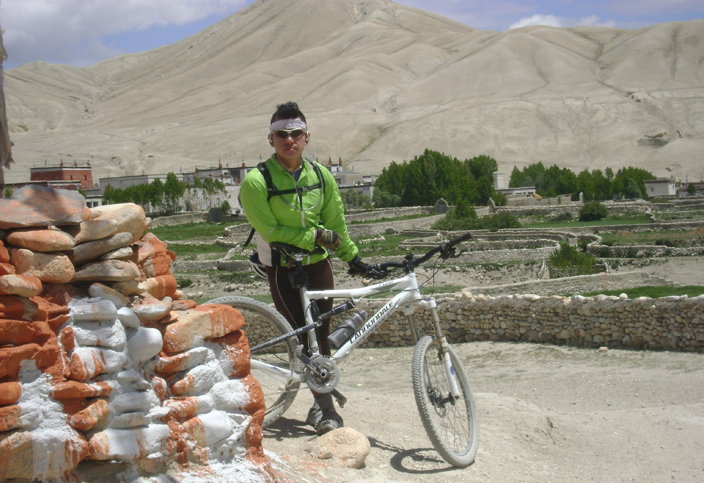 Arriving in Lo Manthang, Mustang