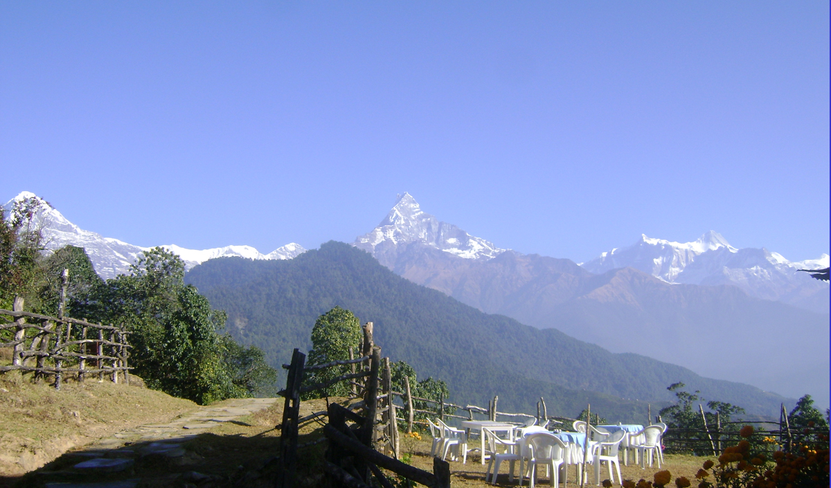 Machhapuchare from Pothana