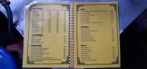 Ghemi menu page 1