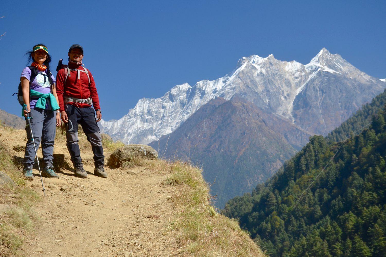Arun and Sune, Tsum Valley Trek