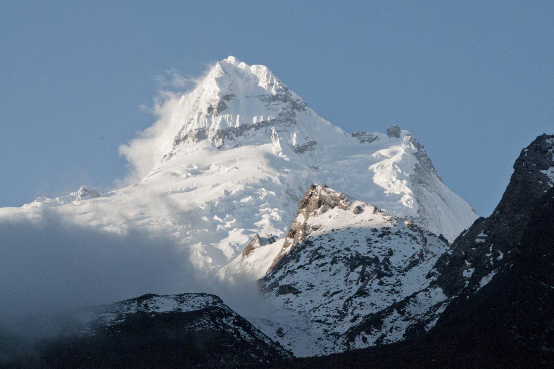 Ganesh Himal near Lundang Gompa, Tsum Valley Trek