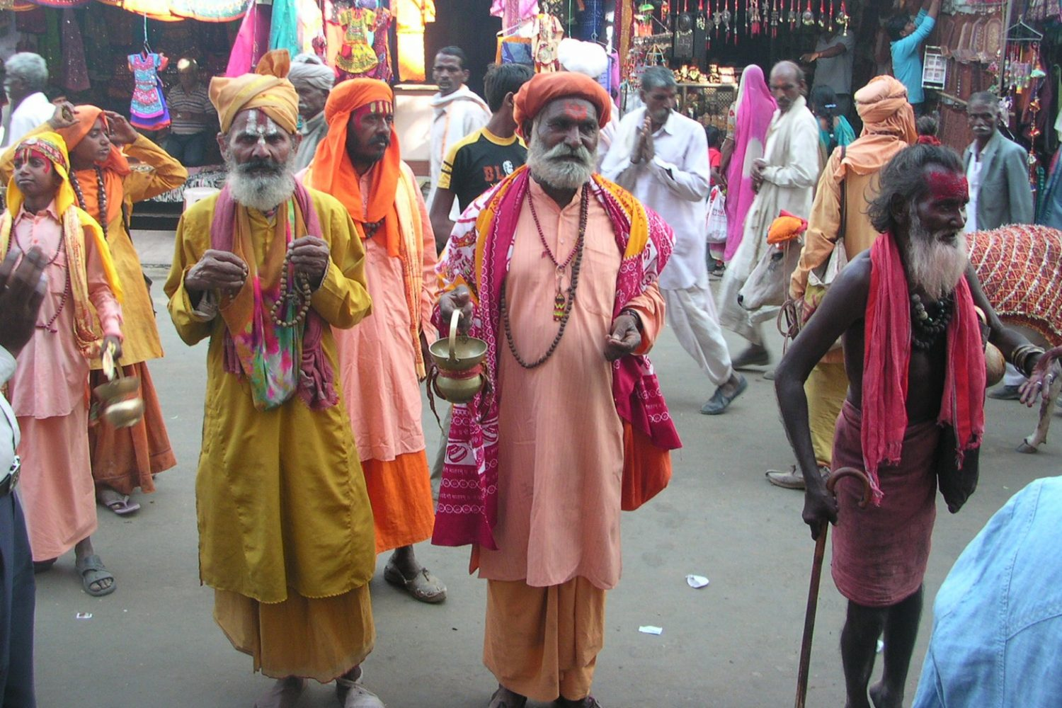 Indian holy men