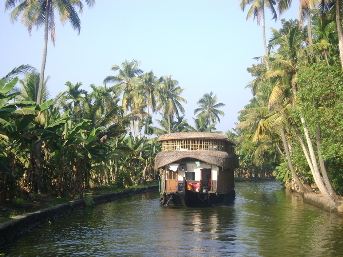 Rice Barge Backwaters