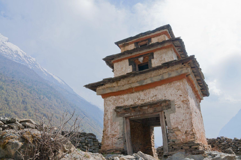 Tsum Stupa, Tsum Valley Trek
